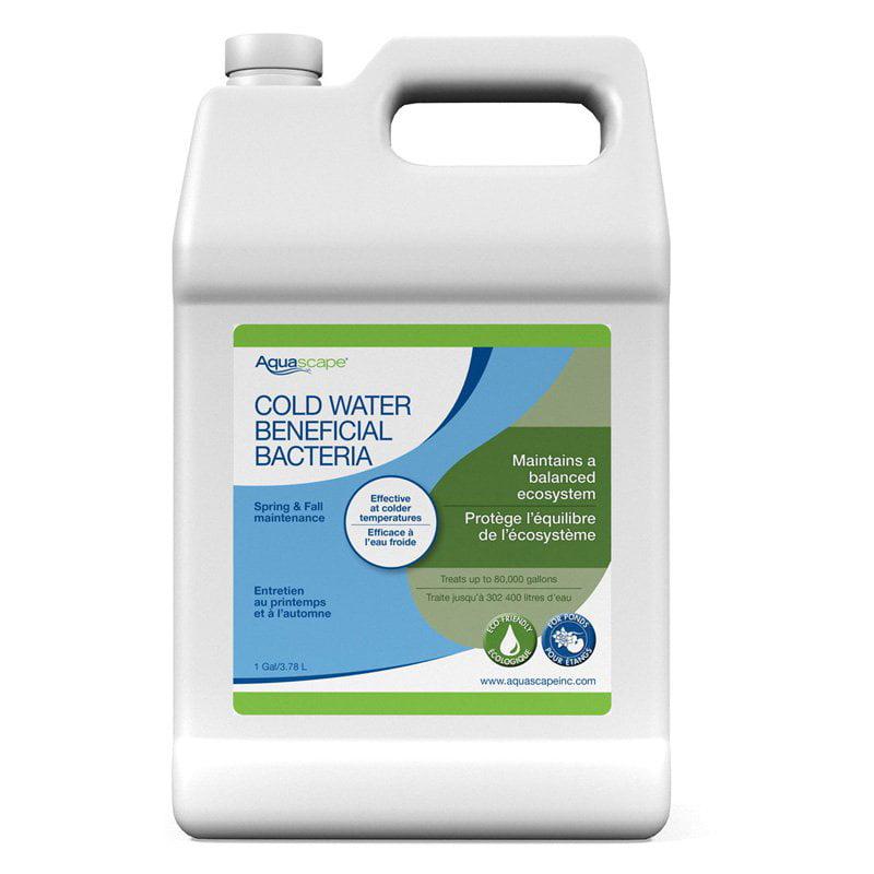 Aquascape Cold Water Beneficial Bacteria for Ponds Liquid - 9 lbs.