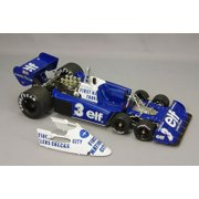 1977 Tyrrell P34 #3 Belgian GP 3rd Place Roonie Peterson Limited to 1500pcs 1/18 Diecast Car by True Scale Miniatures