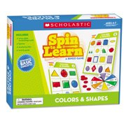 Scholastic Spin To Learn, Colors And Sha