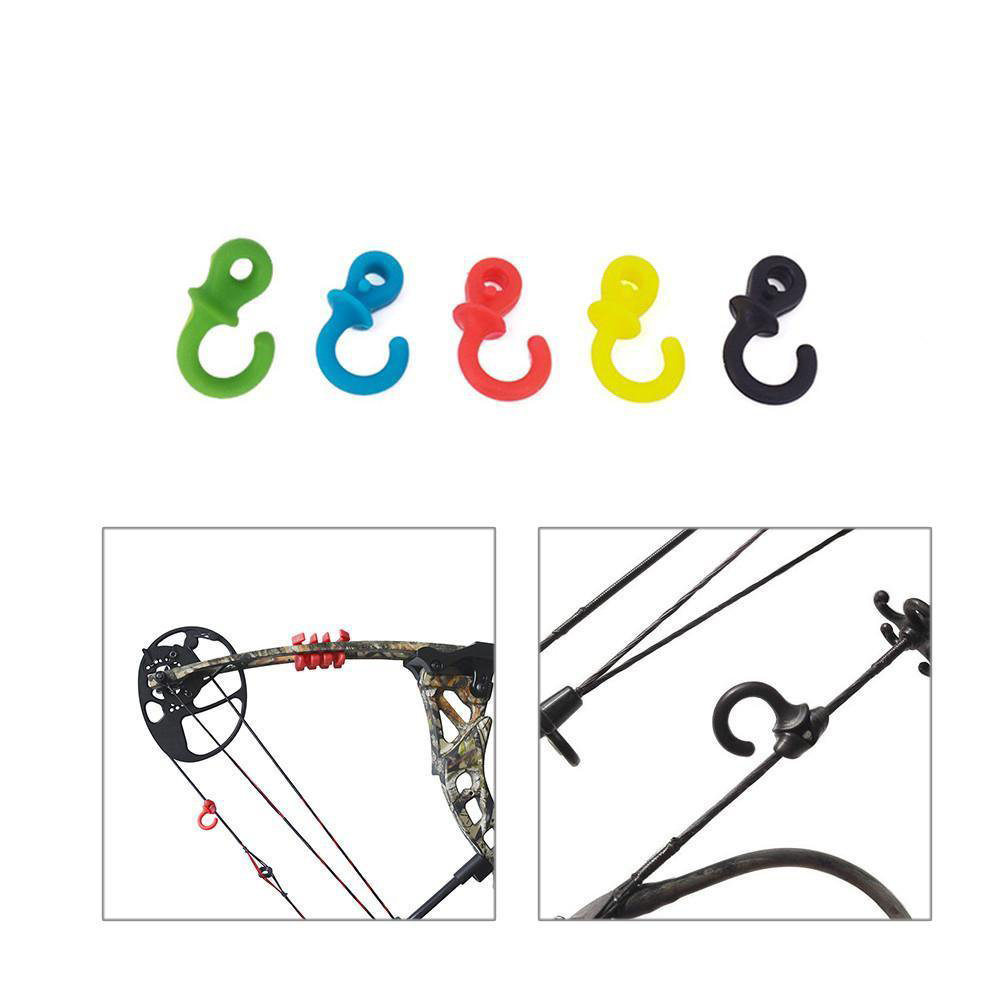 Details about  /4Pcs Compound Bow String Stabilizer Silencer Monkey Tails Bow Damping S6 GRB/_XH