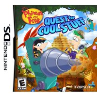 Phineas & Ferb: Quest For Cool Stuff, Majesco, NintendoDS, 096427018049