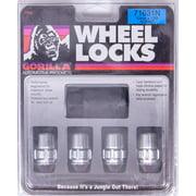 Gorilla Chrome 12 mm x 1.50 Thread Acorn The System Wheel Lock 16 pc P/N 71631N