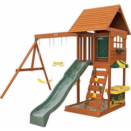 Kidkraft Sandy Cove Wooden Playset Walmart Com