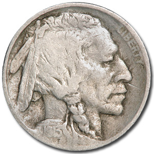1913 Type-II Buffalo Nickel Good+