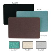 Aarco Products RF3648GN The Ritz Deco Series Fabric Bulletin Board - Green
