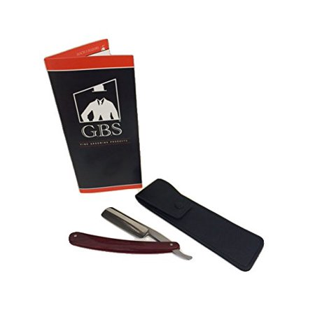 Rosewood Handle Razor Plus Leather Case
