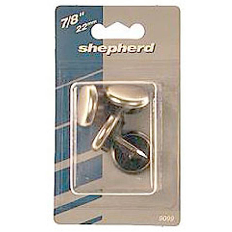 """Shepherd 9100 1-1/16"""" Rubber Cushion Nail On Glides, 4 Count"""