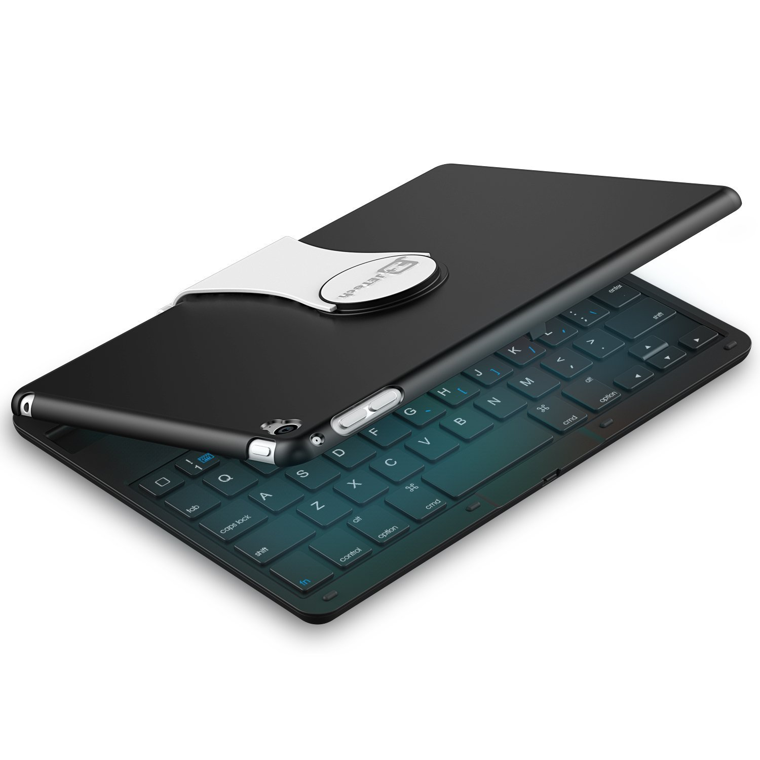 JETech Wireless Bluetooth Keyboard Case for Apple iPad Mi...
