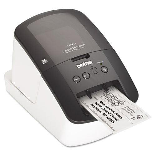 Brother Ql-710w Label Printer Usb Wl 93lpm 2.3inx3ft With...