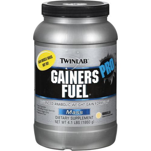 twinlab gainers fuel advanced anabolic weight gain formula mass pro