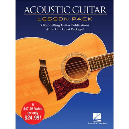 Acoustic Guitar Lesson Pack : 5 Best-Selling Guitar Publications in One Great Package! 4 Books and 1 -
