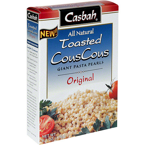 Casbah Toasted Original Couscous, 6.9 oz (Pack of 12)