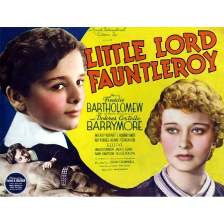 Little Lord Fauntleroy Movie Poster (11 x - Little Lord Fauntleroy Poster