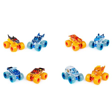 Toy Monster Jam Trucks (Monster Jam, Fire & Ice 2-Pack 1:64 Diecast Trucks, Walmart Exclusive (Styles May)