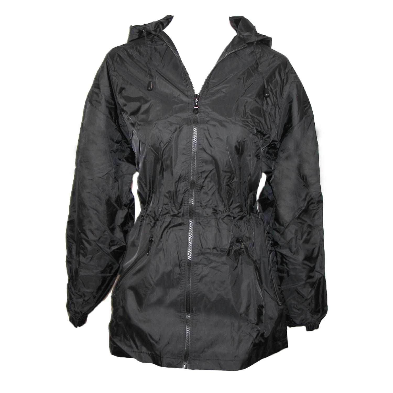 ShedRain Women's Packable Fashion Solid Color Anorak Rain Jacket ...
