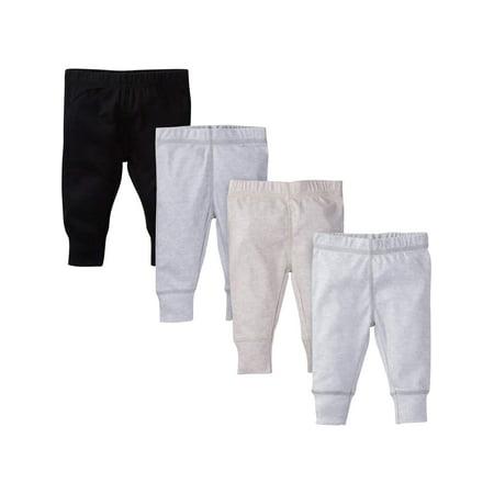 Assorted Active Pants, 4pk (Baby Boy)
