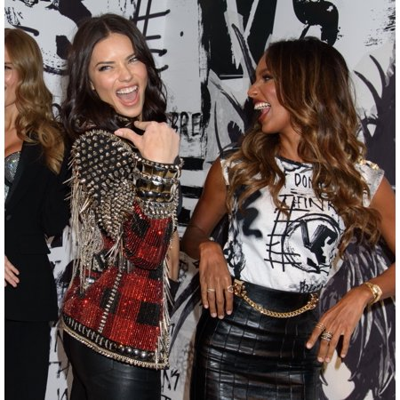 Adriana Lima And Jasmine Tookes At In-Store Appearance For VictoriaS Secret Angels Share Their Favorite Vs X Balmain Looks From The Runway And Hottest Holiday Gifts VictoriaS Secret 5Th Avenue (Hottest Online Stores)