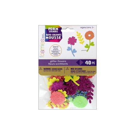 Darice Foamies Sticker Glitter Flowers (Darice Foamies Stickers Glitter)