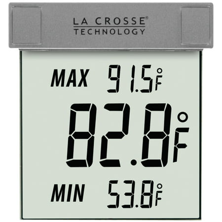 (La Crosse Technology WS-1025 Outdoor Window Thermometer)