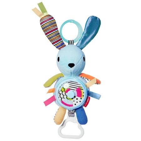 Skip Hop Vibrant Village Pull & Spin Bunny Activity (Skip Hop Vibrant Village Shake & Giggle Dog)