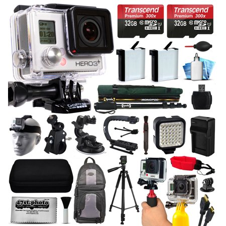 gopro hero3 hero 3 silver plus edition camera camcorder. Black Bedroom Furniture Sets. Home Design Ideas