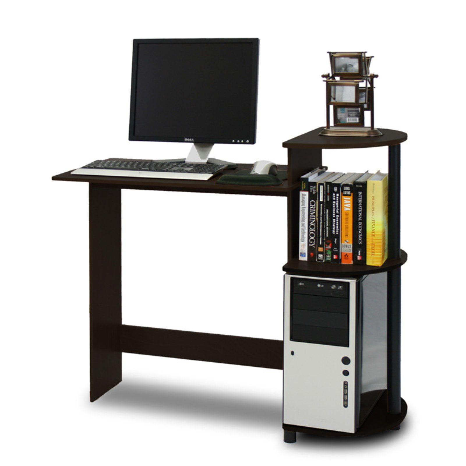 Furinno 11181 Compact Computer Desk Walmart Com
