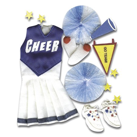 Jolees Boutique Dimensional Stickers-Cheerleading