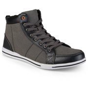 Daxx Mens Casual High Top Lace-up Sneake