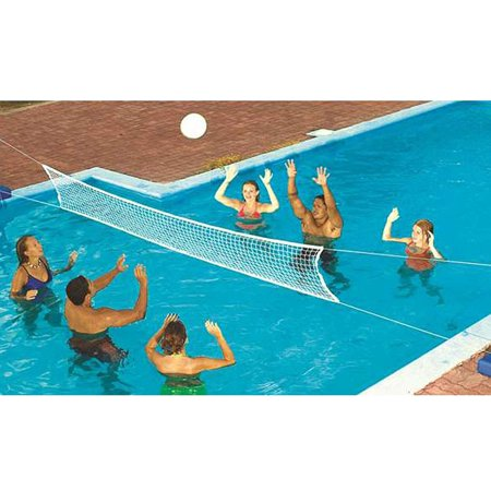 New Swimming Pool Fun Game Volleyball Net Water Set