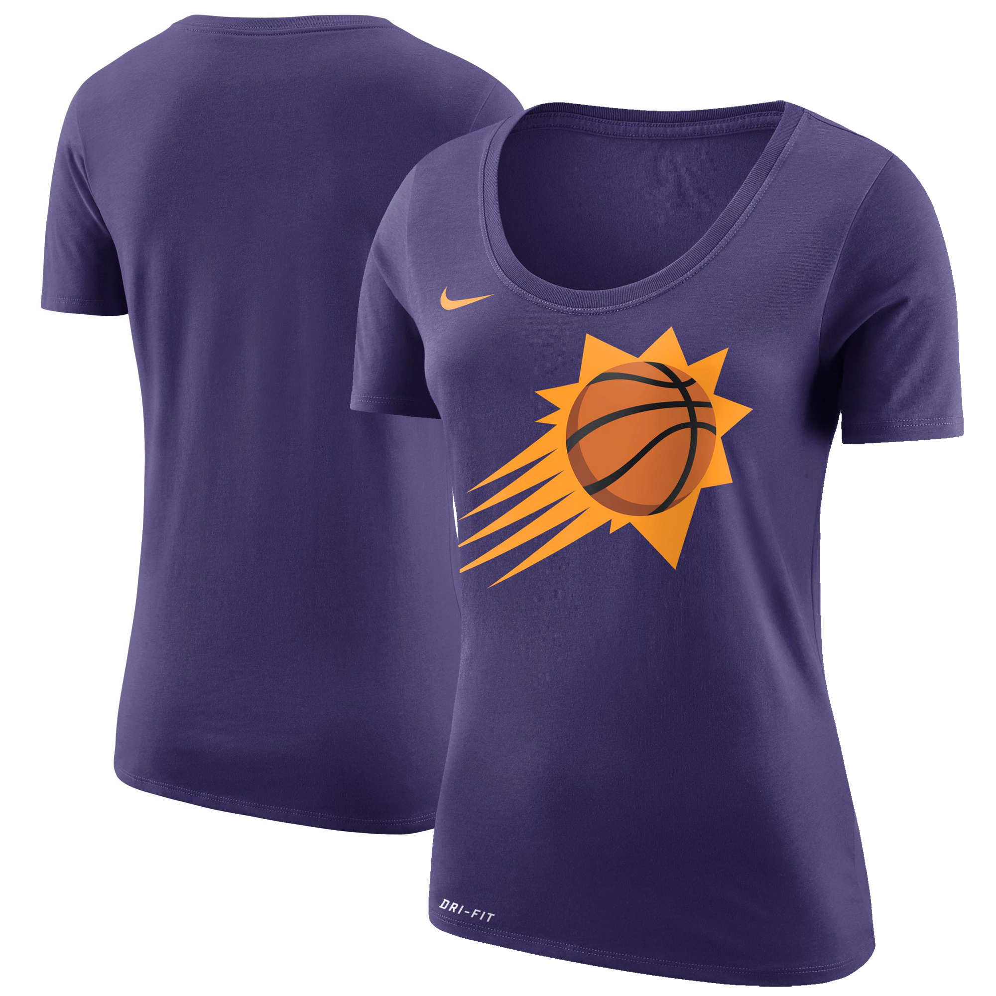 Phoenix Suns Nike Women's Primary Logo T-Shirt - Purple