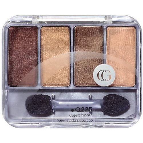 CoverGirl & Olay Eye Shadow Quad, Q225 Desert Bronze