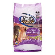 Dog Food: NutriSource Puppy Large Breed