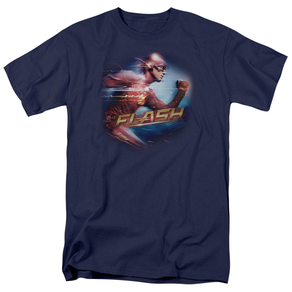The Flash Fastest Man Mens Short Sleeve Shirt