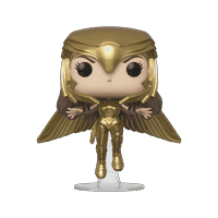 Funko POP! Heroes: Wonder Woman 1984 - WW Gold Flying (MT)