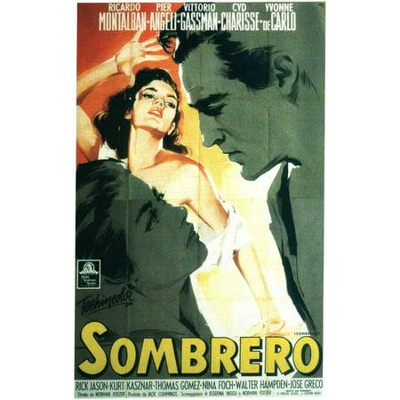 Sombrero POSTER Movie B Mini - Mini Sombreros
