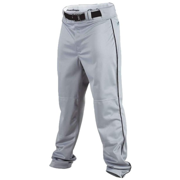 Rawlings Youth Flare Relaxed Fit Pro Weight Piped Baseball Pants Walmart Com Walmart Com