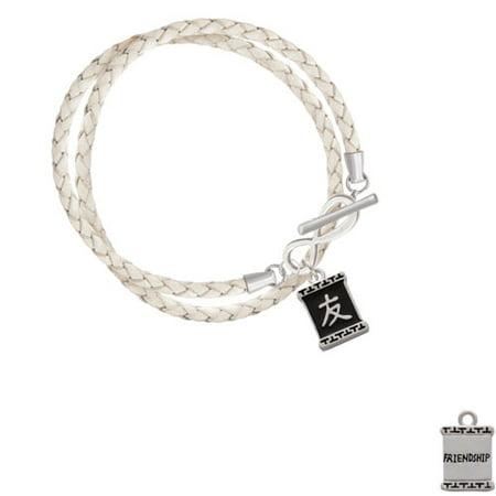 Chinese Character Symbols Friendship Elegant Infinity White