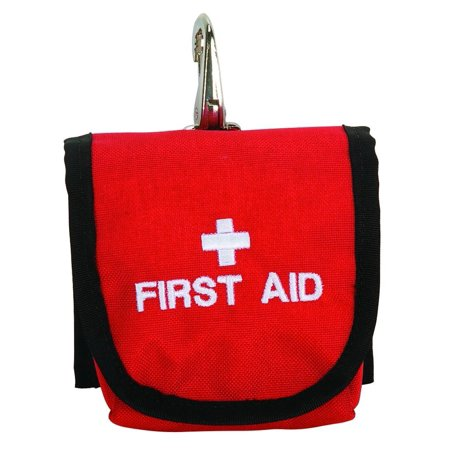 First Aid Bag, Red, Keep first aid necessities close at hand with this convenient first aid bag By Weaver