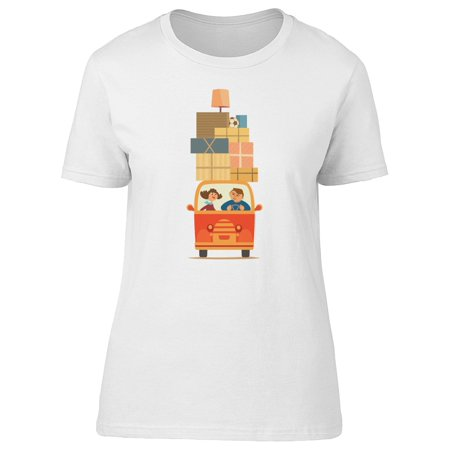 Cute Couple Moving Home Tee Women's -Image by Shutterstock - Cute Couple Com
