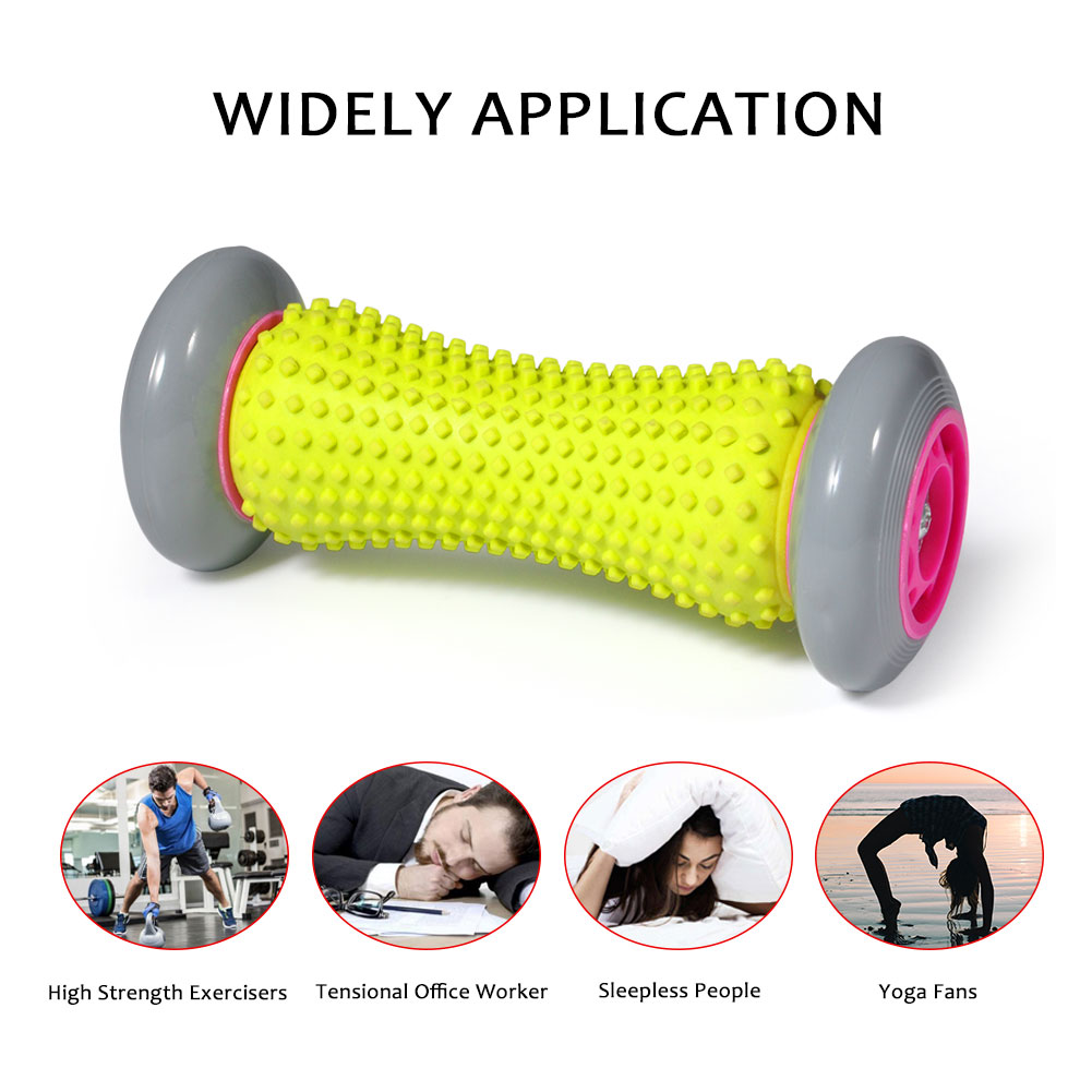 Dilwe Foot Massager Roller Heel Muscle Rollers Pain Relief Rollers for Plantar Fasciitis
