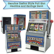 Trademark Poker Lucky Slot Machine Bank