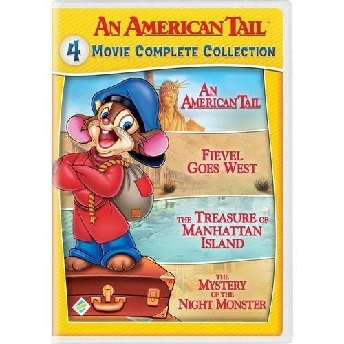 An American Tail: 4 Movie Complete Collection (DVD)