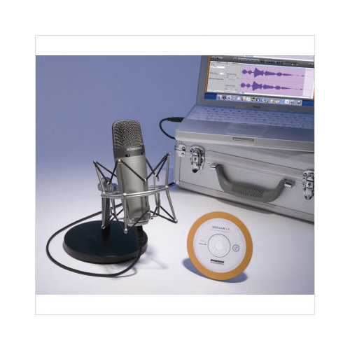 Samson C03U PAK Recording / Podcasting Pack With Cakewalk...