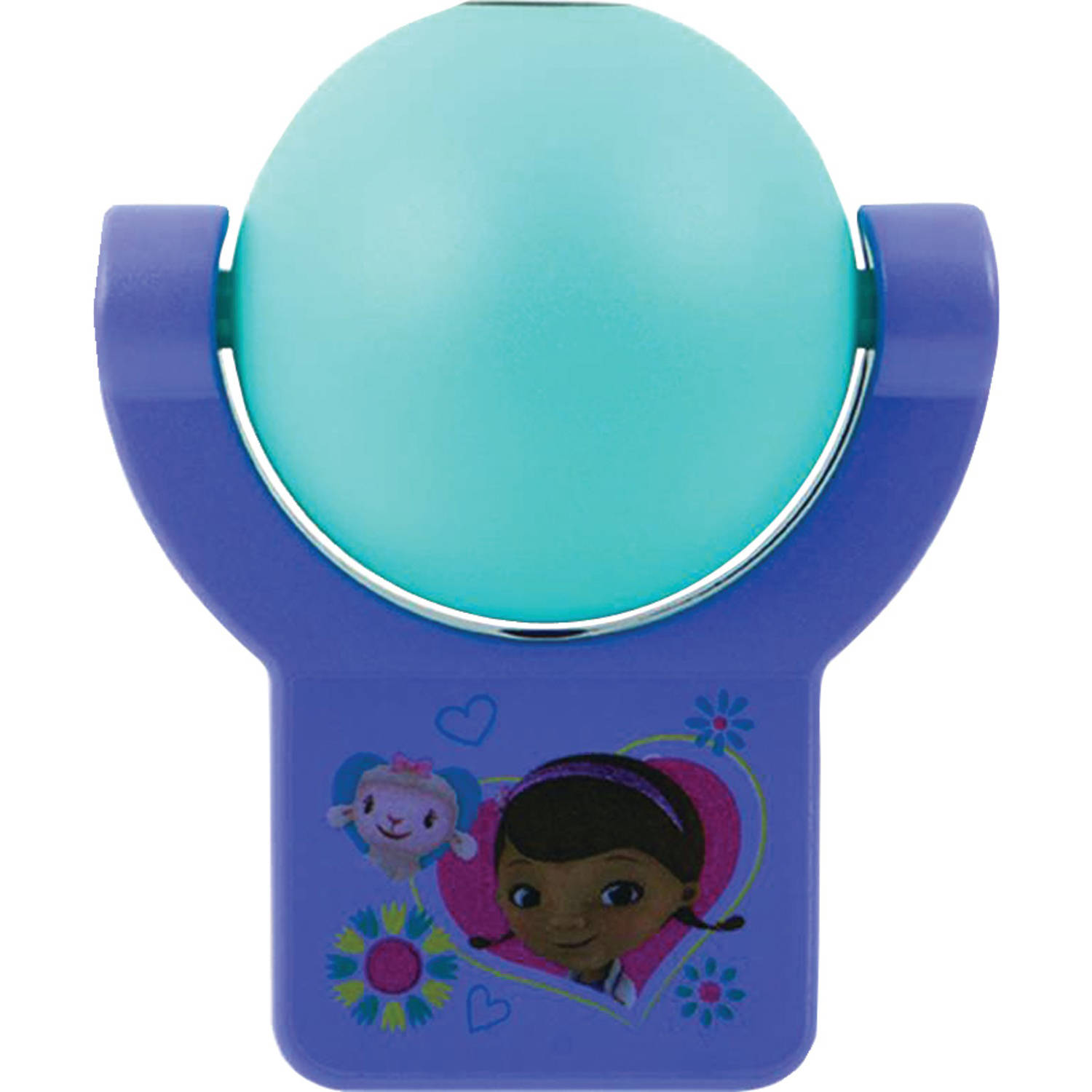 Projectables Disney Doc McStuffins LED Plug-In Night Light, 14530