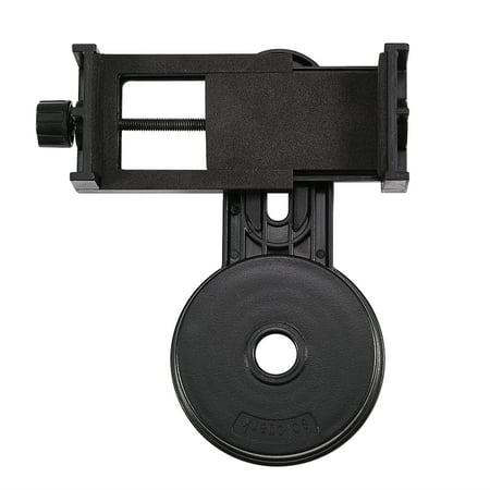 HERCHR Universal Cell Phone Adapter Holder Mount Microscope Telescope Interface Bracket, Mount Barcket