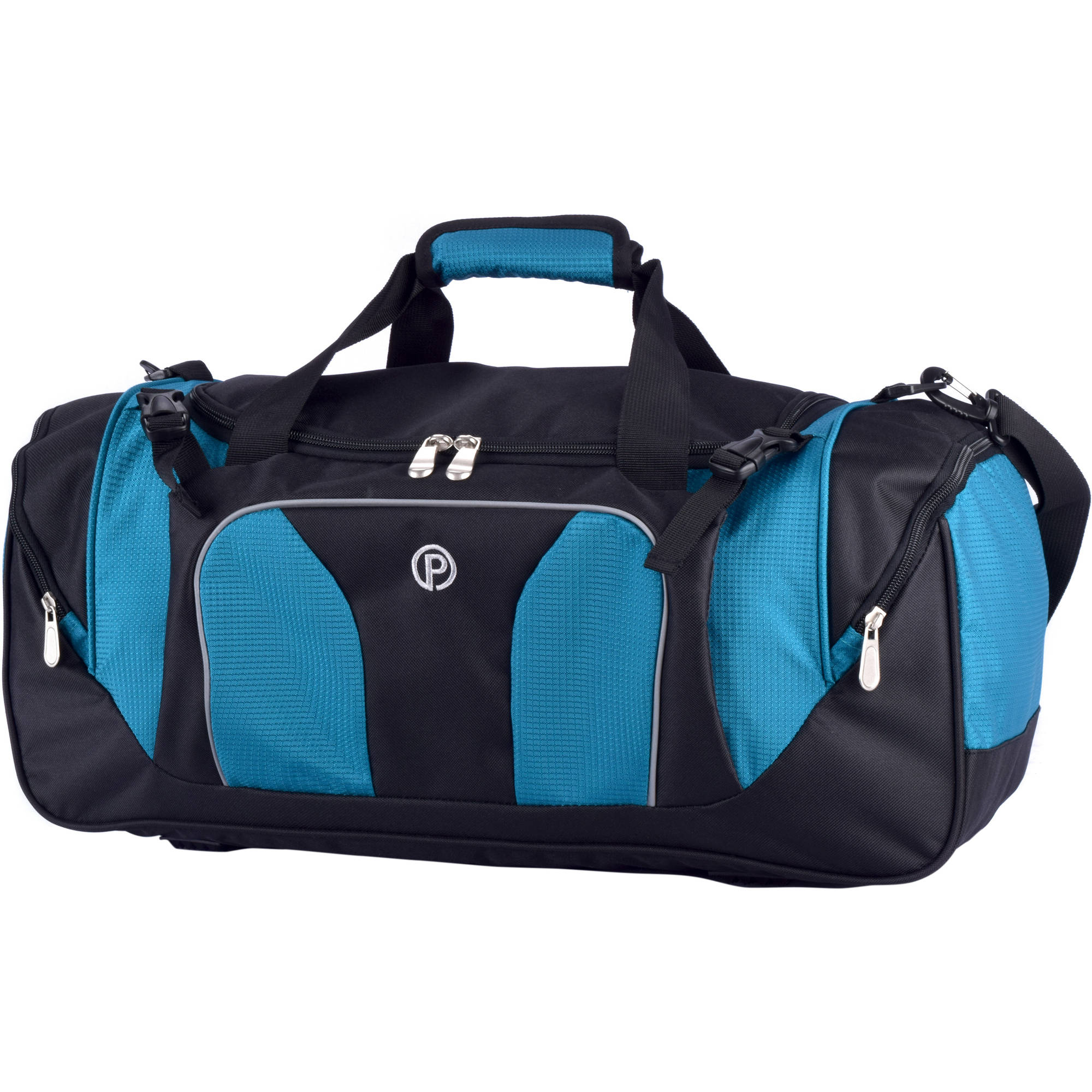 "Protege 22"" Sport Duffel Aqua by Travelers Club Luggage"