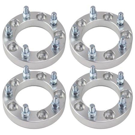 "Set of 4 | 1"" 5x5.5 (5x139.7) Wheel Spacers | Fits  Dodge Ram 1500 Dakota Durango | 9/16"" Studs"