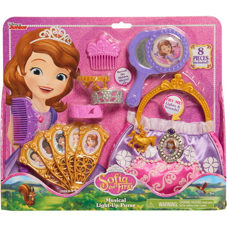 Disney Sofia the First Musical Light-Up Purse Set