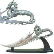 Fire Dragon Fantasy Knife