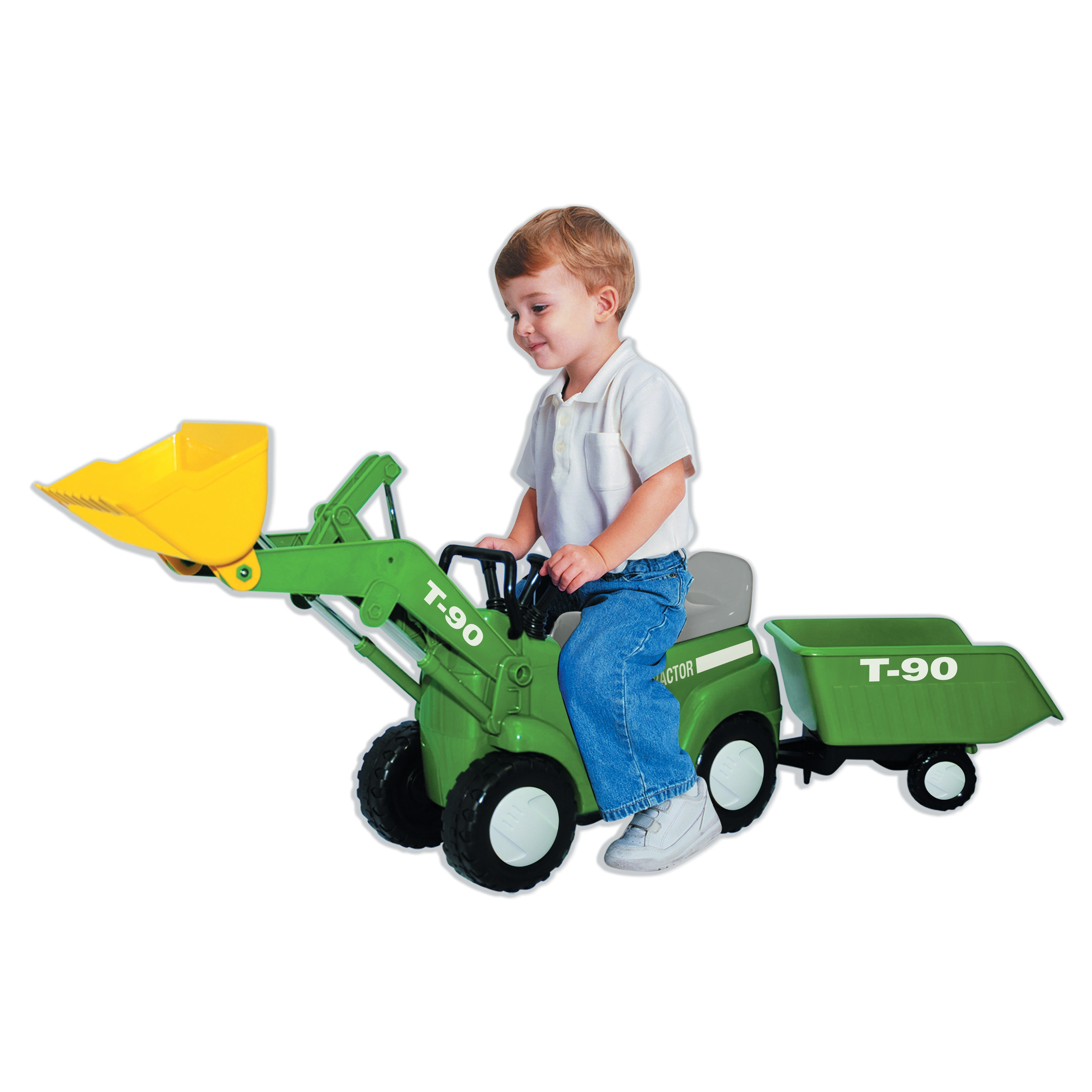 Skyteam Technology Farm Tractor with Big Scoop and Trailer- Ride-On by Overstock